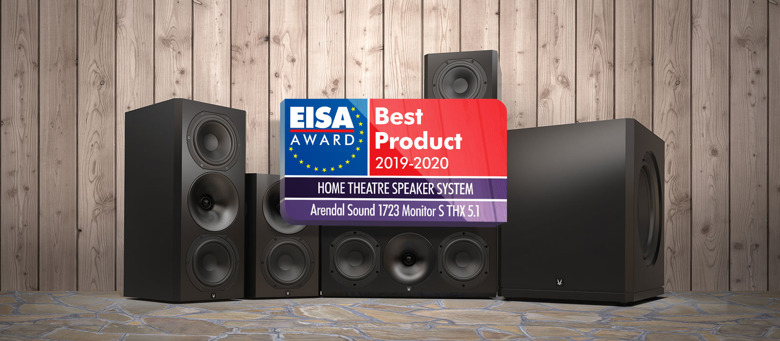 Best Home Subwoofer 2020.1723 S Thx 5 1 Eisa Award 2019 2020 Arendal Sound
